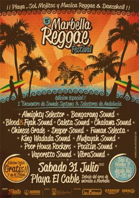 Fifth Marbella Reggae Festival