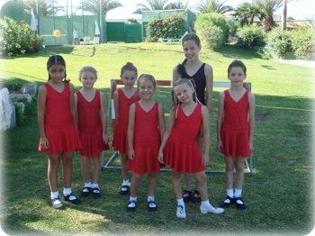 Fiona Jones dancers