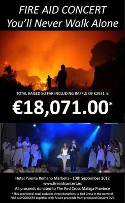 Fire Aid concert 2012
