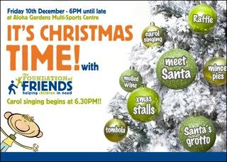 Foundation of Friends Charity Christmas fair