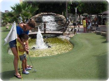 Fuengirola Adventure Golf miniature golf course
