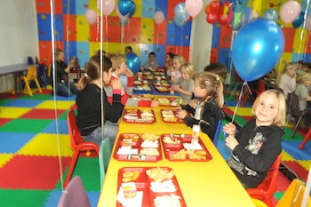 Birthday parties at Galaxia