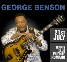 George Benson in Marbella