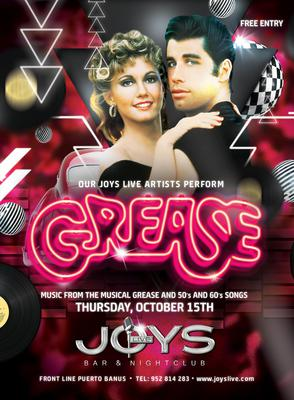 GREASE in Puerto Banus