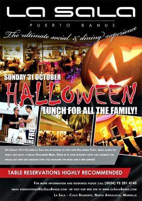 La Sala Halloween party 2010