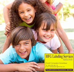 HFG Labeling Services for Marbella Kids
