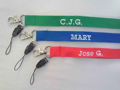 HFG Personalised Key Lanyards