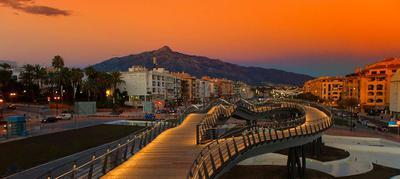 San Pedro Boulevard in Marbella