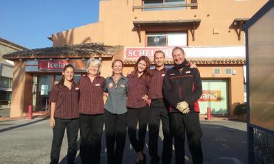 The Iceland team