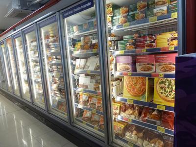 Freezer area