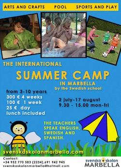 International Summer Camp in Marbella