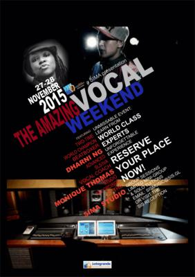 International Vocal and Beatboxing Workshop Weekend