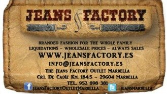 Jeans Factory Marbella Outlet