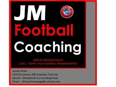 JM Football Coaching | Marbella