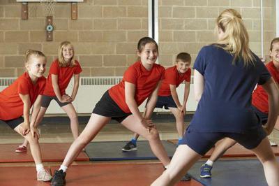 Kids in gyms around Marbella