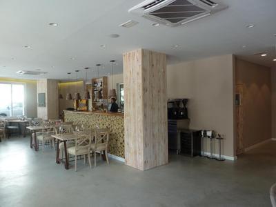 Bar area at Km0 in Marbella
