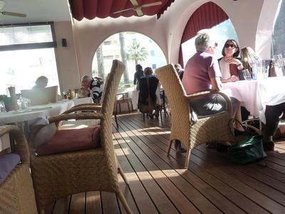 the dining room at Kokomo