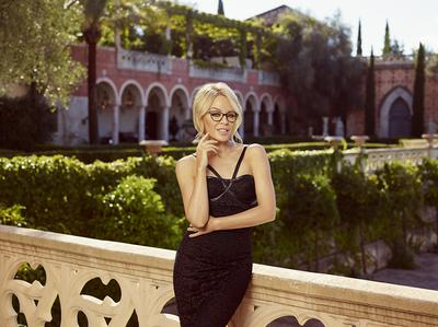 Kylie Minogue glasses collection in Marbella