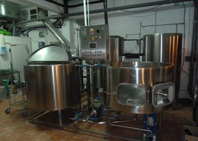 La Catarina Craft Beer Bar The mixing vats