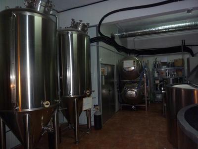 La Catarina Craft Beer Bar fermentation vessels