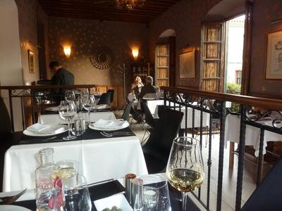 the first floor dining room