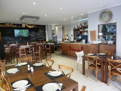 La Culinaria's dining room in Marbella