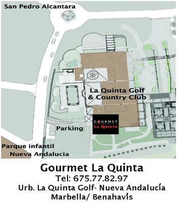 Map to La Quinta Marbella