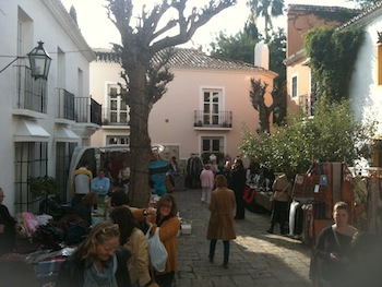 La Virginia Christmas market in Marbella