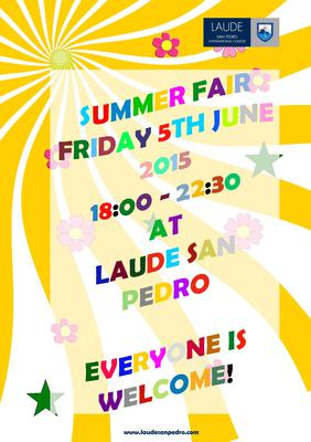 Laude San Pedro Summer Fair - June 5, 2015
