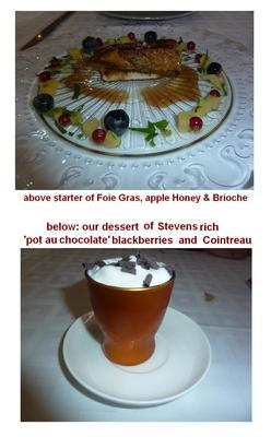 we share a starter & dessert