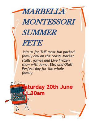 Marbella Montessori Summer Fete