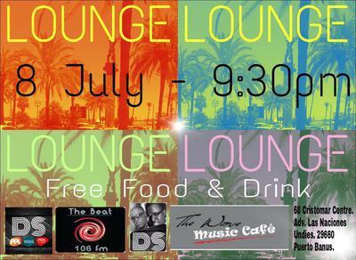 Lounge Music Event in Puerto Banus