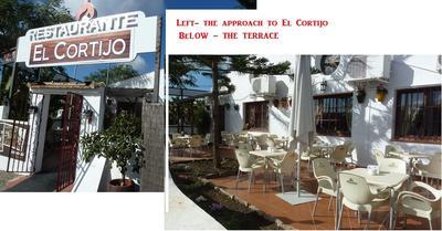 the approach to El Cortijo