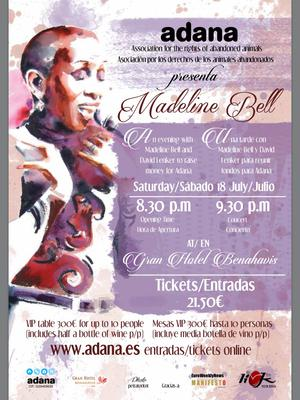 Madeleine Bell benefit concert for ADANA