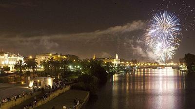 Fireworks on opening night
