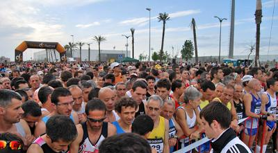 Malaga Marathon 2010