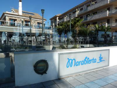the approach to Marabierta