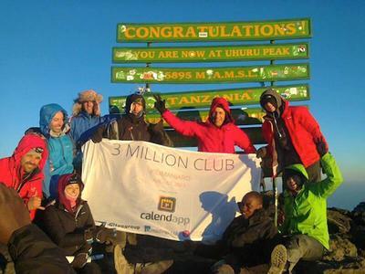Uhuru peak, Mt. Kilimanjaro August 26, 2013