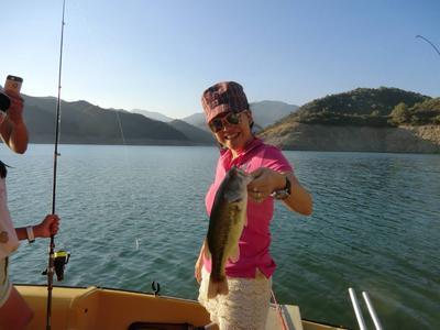 Mountain fishing near Marbella
