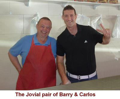 Owners, Barry & Carlos