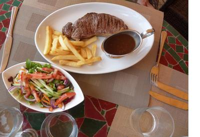 Entrecot Steak at Marbella Golf Country Club