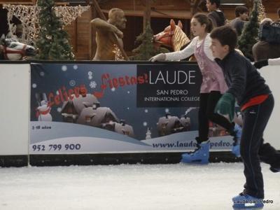 Marbella ice skating rink