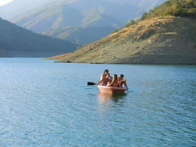 Kayaking in Marbella on Lake Istan