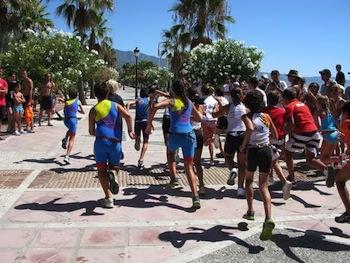 Marbella kids triathlon club