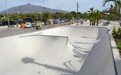 Marbella Skate Park in San Pedro