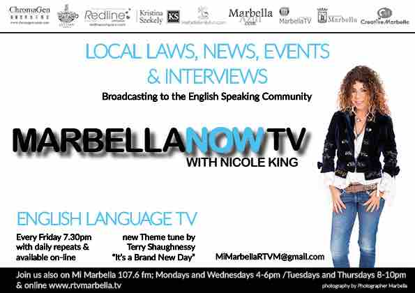 MarbellaNow is the English TV show on Marbella