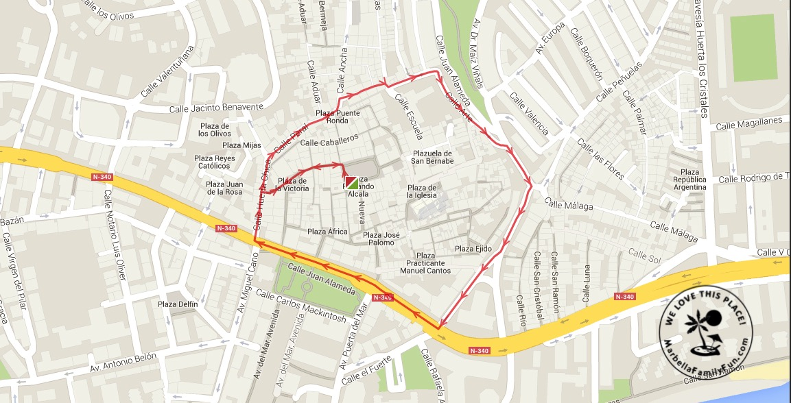 Marbella Easter Procession Schedule 24 March