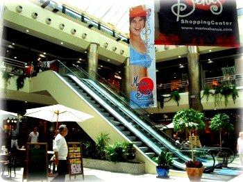 Marina Banus is a small. pleasant shopping center