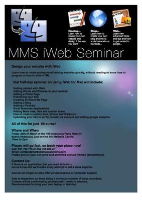 MMS - iWeb Seminar