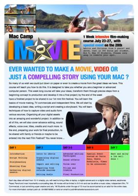 MMS - Mac Computer Summer Camp